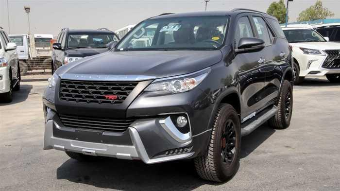 Toyota Fortuner 2018 For Sale in Sharjah